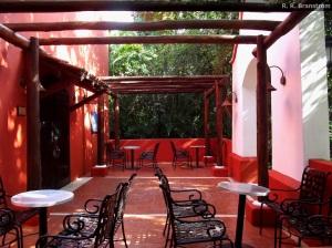 La Mision patio.